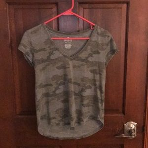 Camouflage American Eagle T-shirt